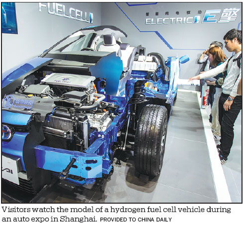 Shanghai to accelerate development of fuel cell vehicle
