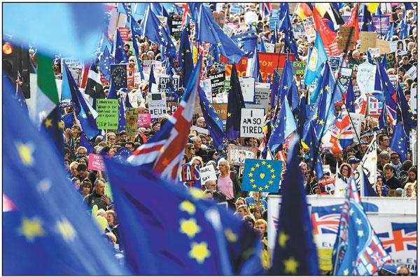 欧盟应伦敦的要求就扩大英国脱欧进行磋商