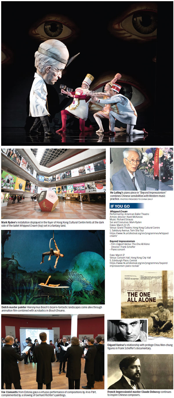The painterly imagination|Hk Culture|chinadaily com cn