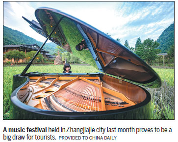 Rural festivals boost numbers of visitors, help relieve poverty