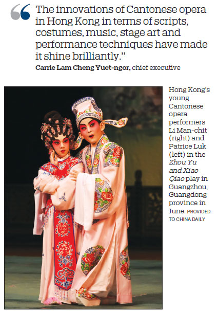 Young artists aim to preserve Cantonese opera