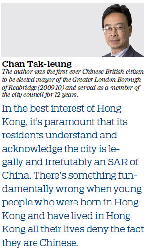 The rule of law must prevail in HKSAR