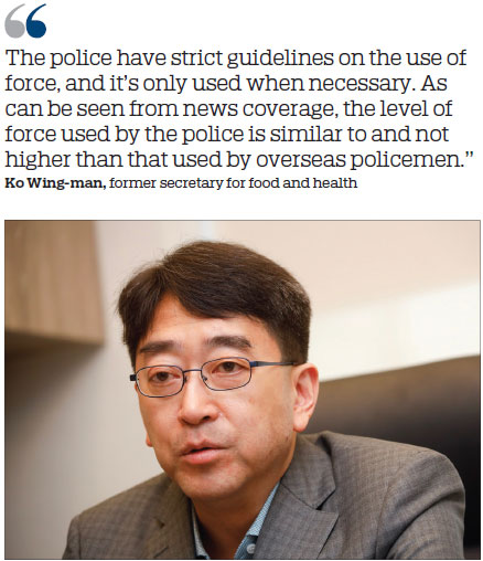 Former health chief backs police action