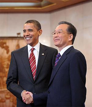 温家宝:希望美国改变对华出口管制政策