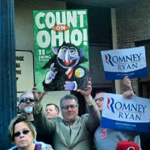 罗姆尼 项智/罗姆尼造访俄亥俄州,芝麻街再度出现。...