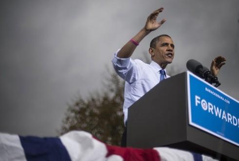 华盛顿邮报/《华盛顿邮报》编辑部支持奥巴马...
