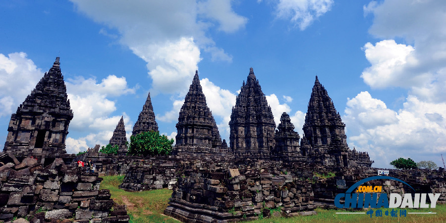 神庙 兰班南 印尼/这是巴兰班南神庙群(2011年5月16日摄)
