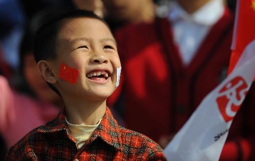 可爱小孩笑脸  高清