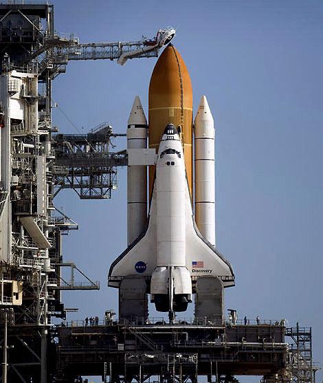 美国发现号航天飞机推迟至周六中午发射