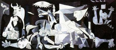 毕加索名画在伊找到 成为萨达姆政权入侵科威特证据高清图片