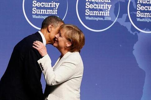 核峰会上见政要 奥巴马肢体语言大盘点