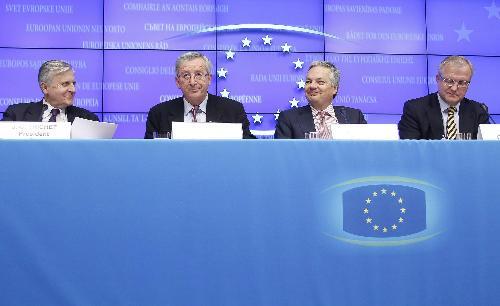 欧盟颁布匹850亿欧元救助酷爱尔兰方案 利比值高于希腊