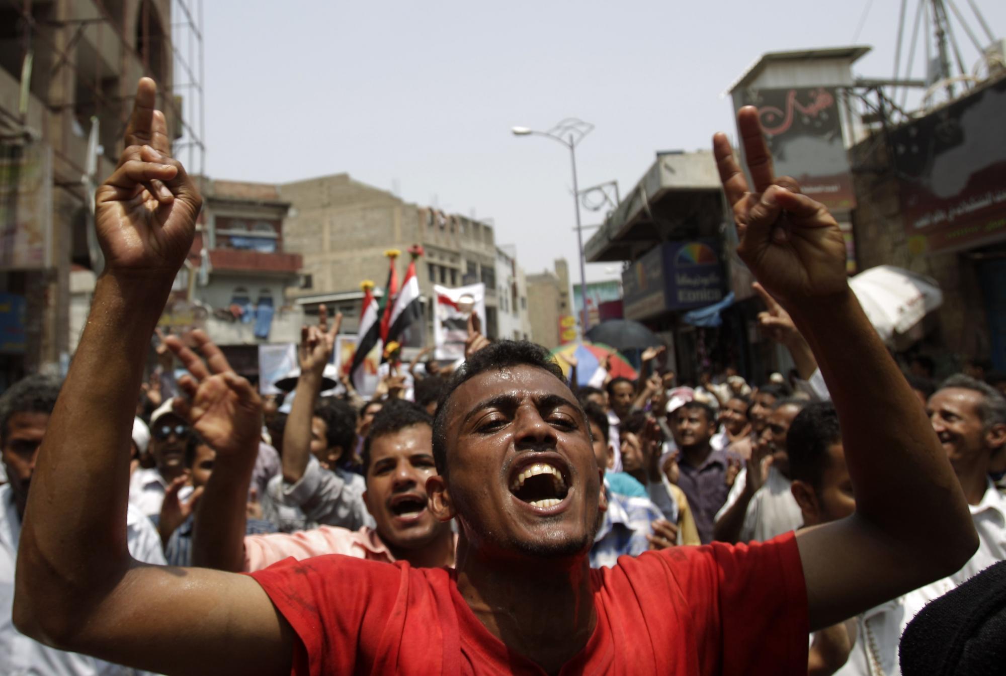 也门1 4省份局势失控 总统萨利赫表态愿意和谈高清图片