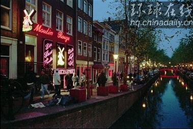 ...姆斯特丹将关闭红灯区部分妓院临街窗户图片 25156 379x255