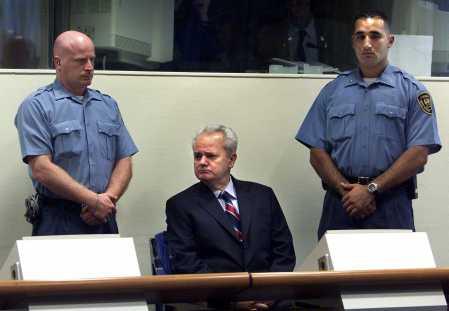 五年监禁--前南联盟总统米洛舍维奇