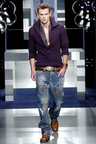 男士穿牛仔裤绝招