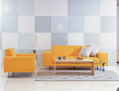 沙发的多种摆放窍门支招(图)