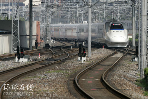 D字头高速列车北京首发