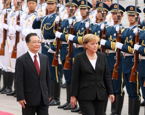 温家宝:中国的发展绝对不会影响和威胁别国