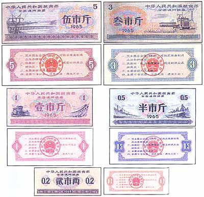 50年前:凭票供应和限量供应 - 陈明远 - 陈明远的博客