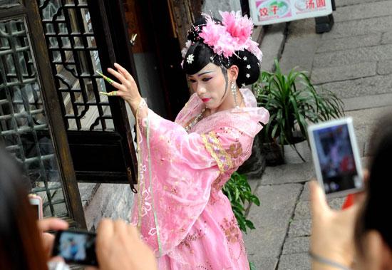 泰国古装穿法步骤图解