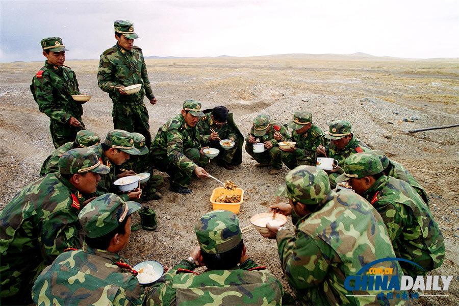 探访神秘的中国武警黄金部队图片