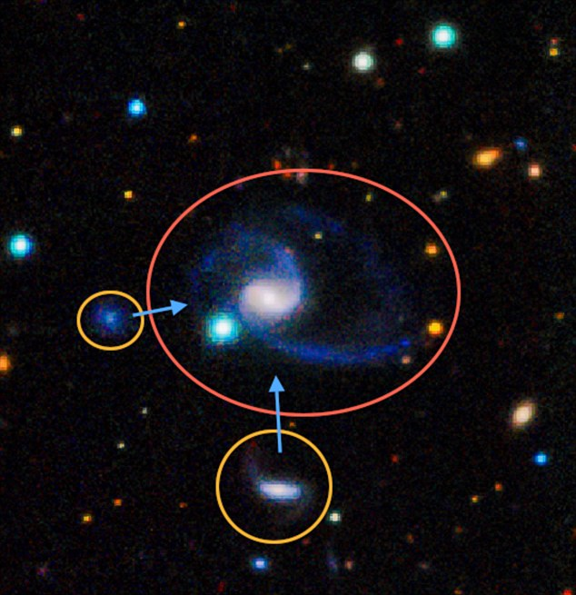 天文学家首次发现宇宙中2个与银河系极相似星系