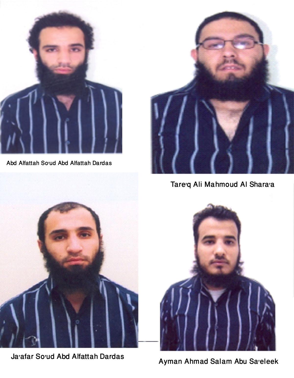 头像 约旦/约旦官方公布的恐怖袭击嫌犯头像
