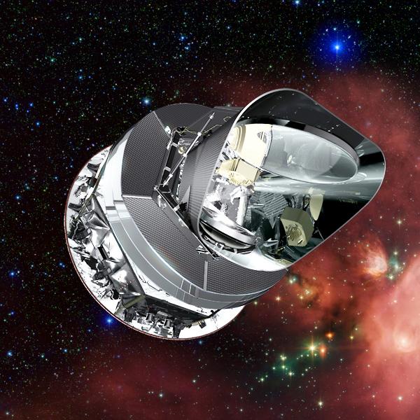 2009年5月,普朗克太空探测器被升空入轨