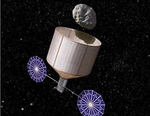 """NASA""""捕捉小行星""""计划有望成真 拟申请1亿美元启动资金"""