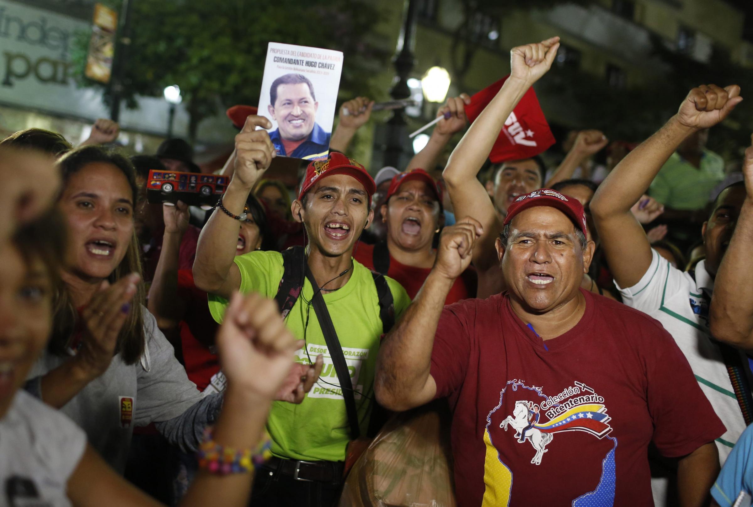 委内瑞拉选后局势动荡7人死亡马杜罗谴责美国支持暴力抗议[1]-+中文