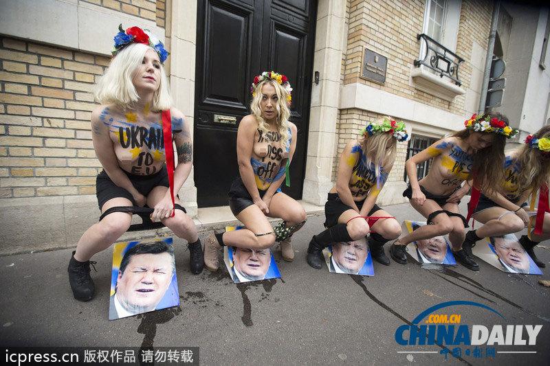 法裸女往乌克兰全集脸上撒尿抗其拒签v全集协骚总统性感彤彤图片