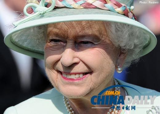 英国女王在白金汉宫走廊坚果碗里做记号 防警卫偷吃