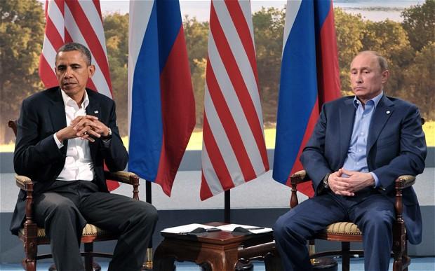 奥巴马调侃普京扮硬汉取悦民众 否认两人关系