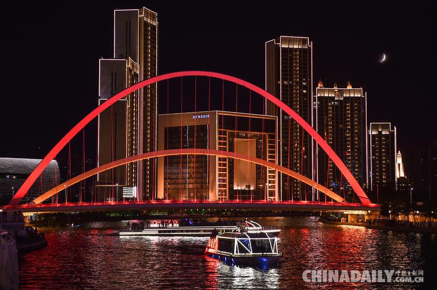 为迎接第十三届全运会,天津市提升了奥林匹克体育中心周边