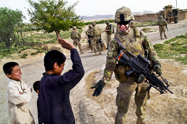 美国大兵2012最美照片