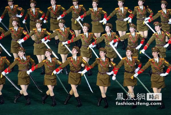 揭秘朝鲜女性真实时尚生活
