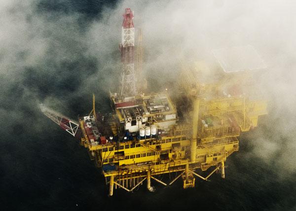 custom oil rig oakley  view of oil