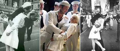 wwii nurse in iconic times square kissing photo dies