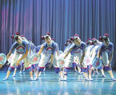 qunxing award winner xiaoman a dance by the shandong school