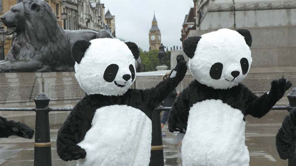 Big Ben Meets The Pandas A Sign Of Growing Regional