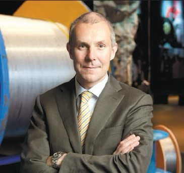 Olof Faxander President And Ceo Of Sandvik
