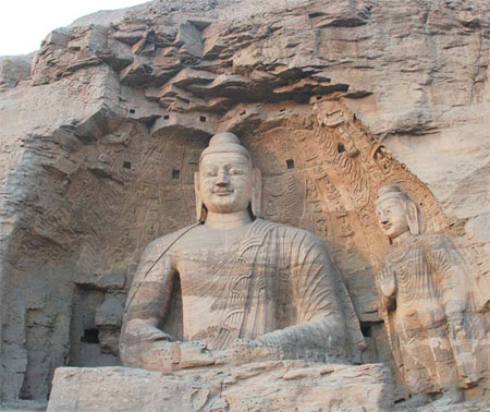 the nearby cultural attractions such as the yungang grottoes an