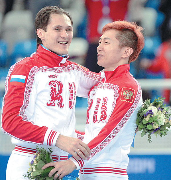 Liverpool Vs Chelsea Is A Phoney Rivalry Compared To: Russia S Gold Medalist Victor Ahn Right And Silver