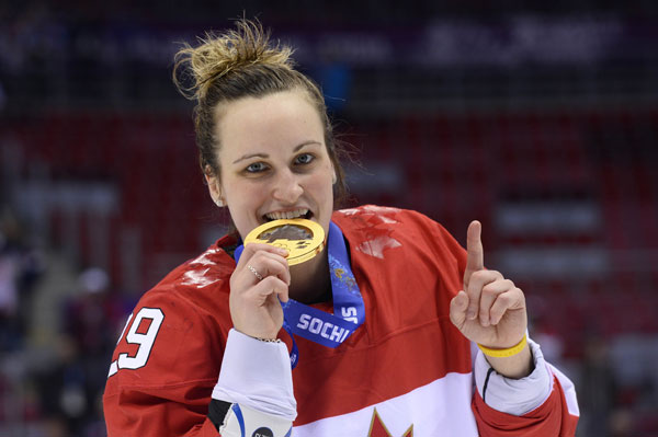 canada s marie philip poulin celebrates with her gold ...