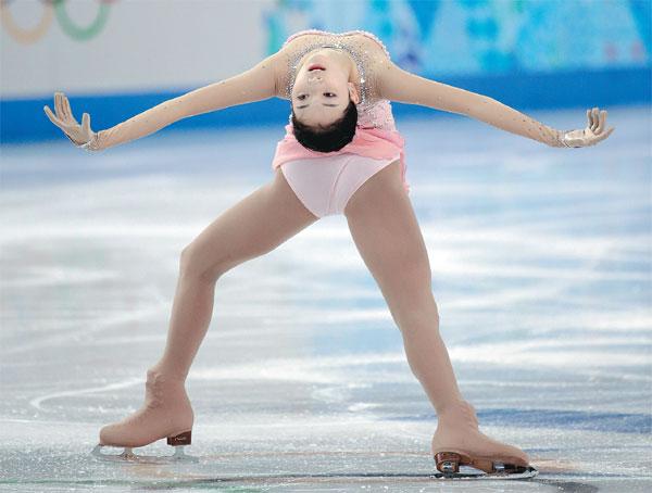 Li Zijun Of China Competes In The Free Skate Figure