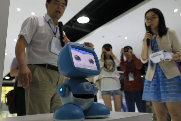 Robots Produced In Dongguan For Export Export Value Of