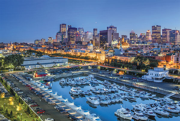 A View Of Montreal Stephan Poulin Tourisme Montral