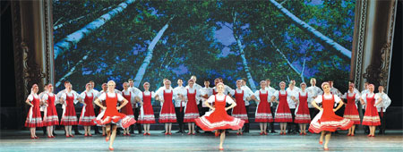 Traditional Dancers From Russia Took The Stage At The