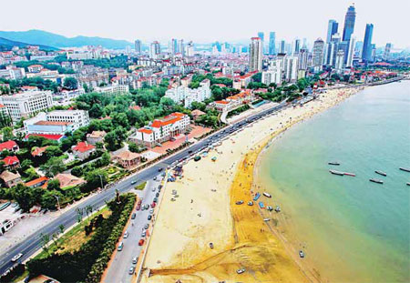 French National Sea Experience Centre : coastal yantai in shandong province has ambitions to be the